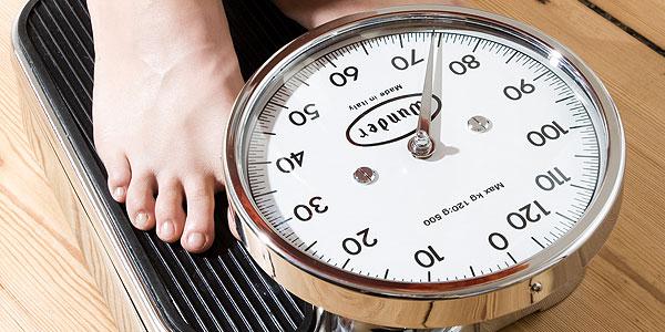 Wunschgewicht? Die goldene Waage bei Übergewicht